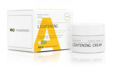 Lightening producto para el antienvejecimiento